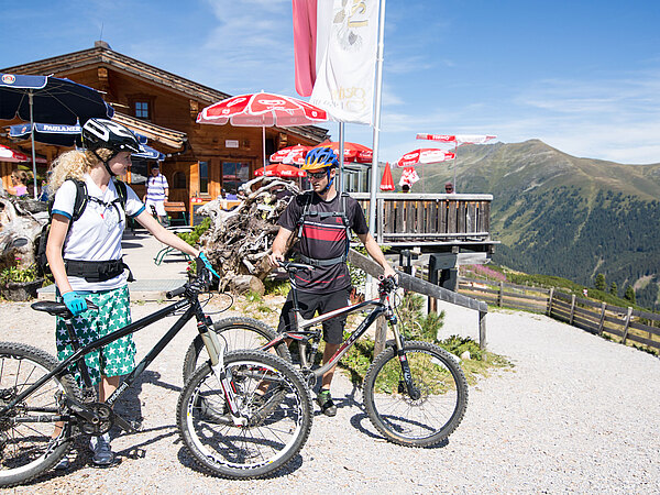 An active holiday in the Zillertal Arena